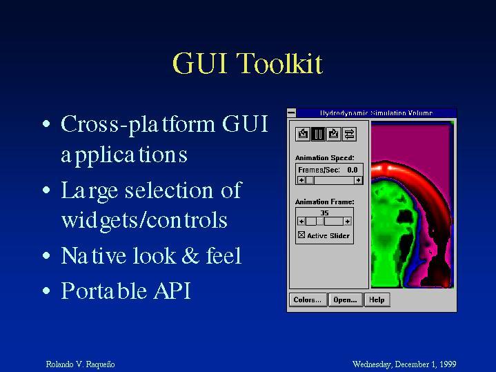 Gui Toolkit